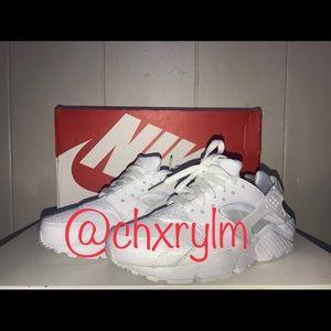 Nike Huaraches Run (GS) white